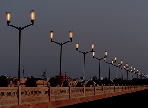 Lucknow Street Lighting, Lucknow
